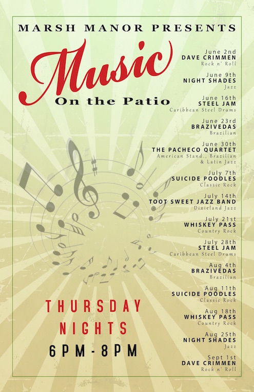 Music on the Patio 2016